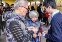8th February 2017 – Knots of Hearts Distribution Day at Fanling